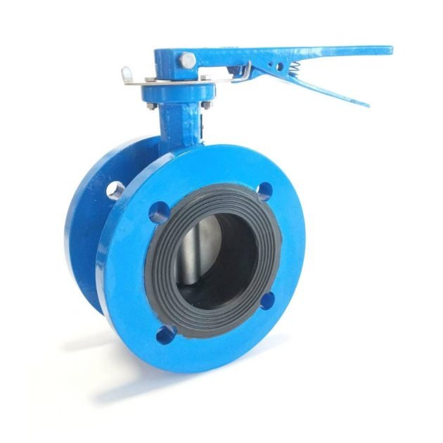 Manual Flange Butterfly Valve