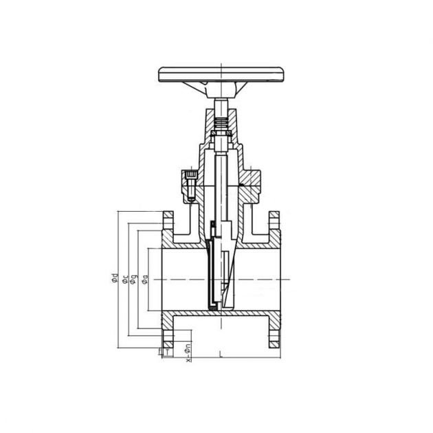 GOST-30ч39р-Resilient-Gate-Valve 9