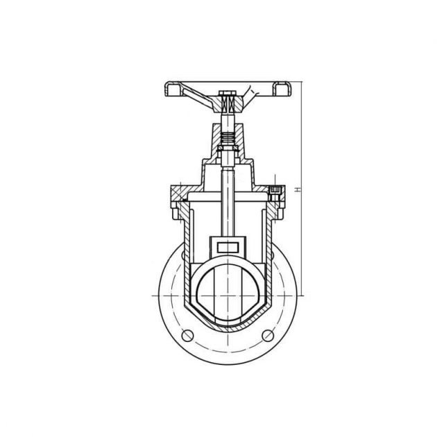 GOST-30ч39р-Resilient-Gate-Valve 8